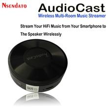 M5 AudioCast Airplay Wifi musique haut-parleur récepteur 2.4G WIFI Hifi musique DLNA Airplay adaptateur Spotify sans fil son Streamer