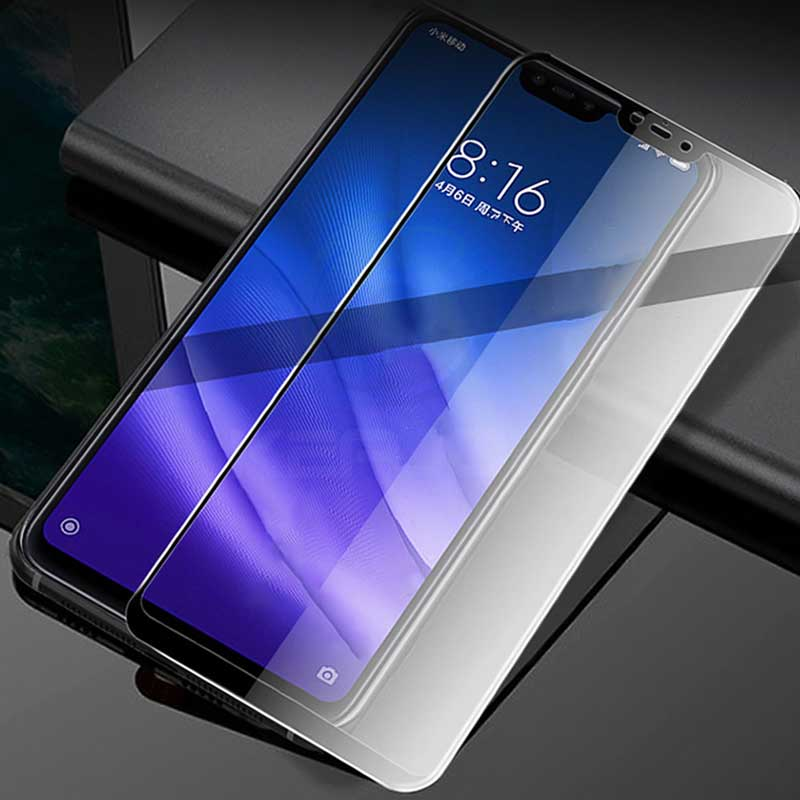 Vidrio Templado Keajor para Xiaomi mi 8 lite Glass Flim 9H 5D película protectora de pantalla completa antiarañazos para Xiaomi mi 8 lite