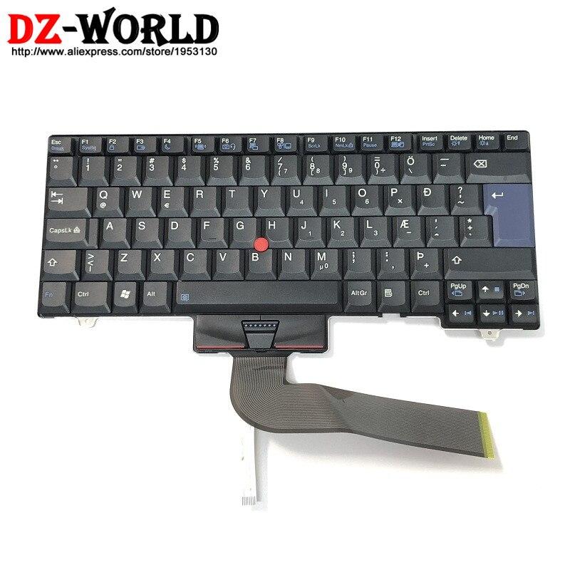 Nuevo Original para Lenovo Thinkpad SL410 L410 L412 L420 L421 SL510 L510 L520 L512 Teclado islandés Teclado 45N2439 45N2404