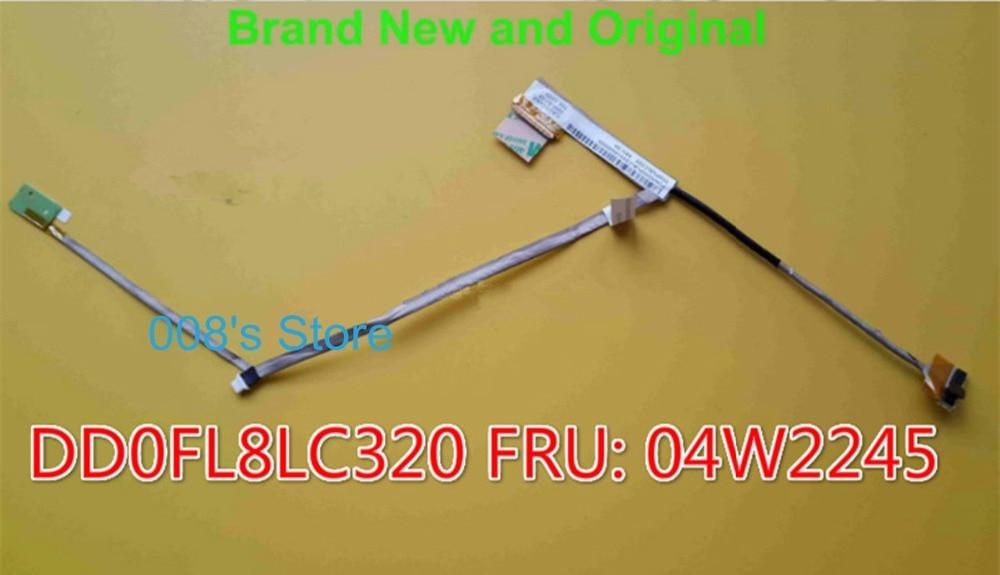 Novo Notebook LEVOU a Cabo LCD Para LENOVO Thinkpad X121E E125 X130E x120e 04W2224 Tela LVDS VÍDEO FLEX Conector Fita