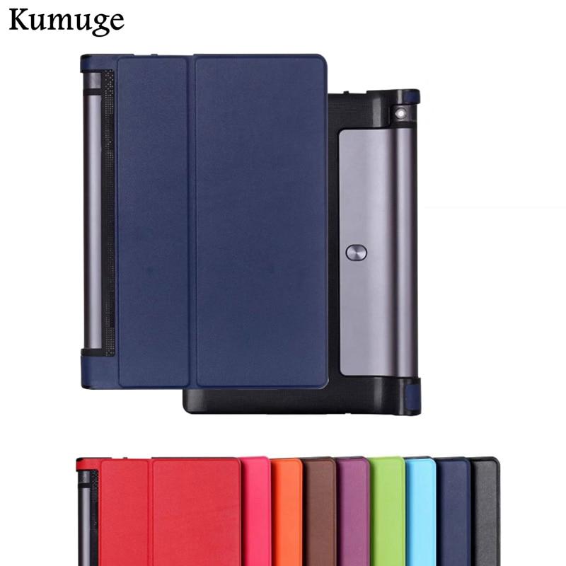 Cover for Lenovo Yoga Tab 3 YT3-X50F YT3-X50L 10.1 inch PU Leather Tablet Cover Case for Lenovo Yoga Tab 3 YT3-X50F X50L X50M