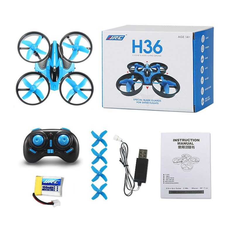 JJRC H36 H36F Mini Drone 2.4G 4CH 6-Axis Speed 3D Flip Headless Mode RC Drone RC Quadcopter Gift RTF VS E010 H8 Mini