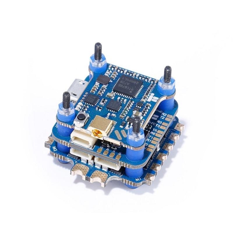 Iflight succex f4 v3 mini controlador de vôo 35a blheli_32 2-6s esc 5.8g duplo giroscópio 500mw smartaudio vtx para rc fpv racing drone