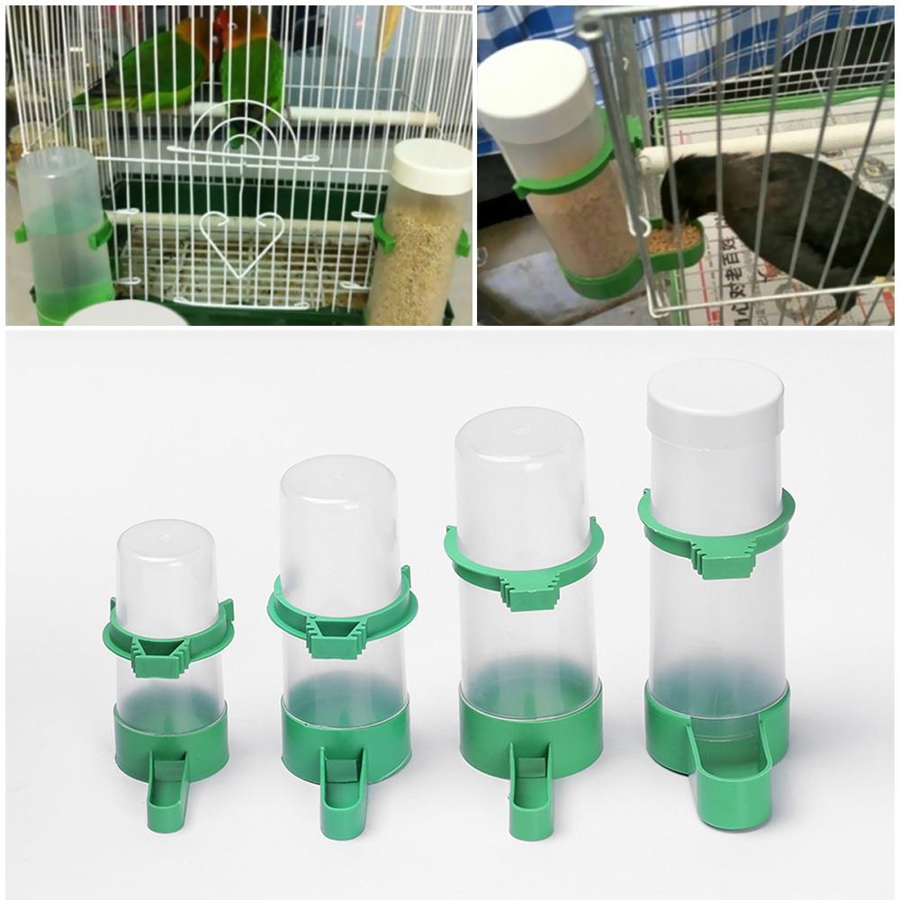 Alimentador de alimentos para animais, equipamento prático para alimentação de pássaros, bebedor de água, clipe para aves, equipamento para alimentação de animais de estimação, 1peça