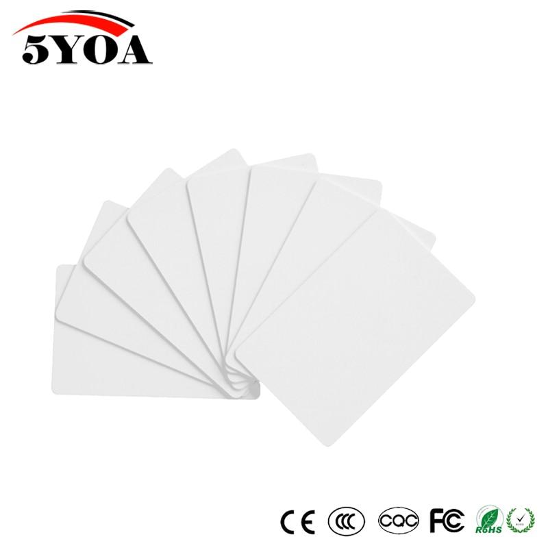 10pcs 125khz RFID EM4305 T5577 Duplicator Copy Clone Tag Rewritable Duplicate Card Sticker Key Fob Token Ring Proximity