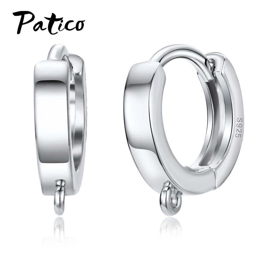 New Smooth Buckle Earrings Women Korean Ear Jewelry Wholesale Fashion Accessory Free shipping
