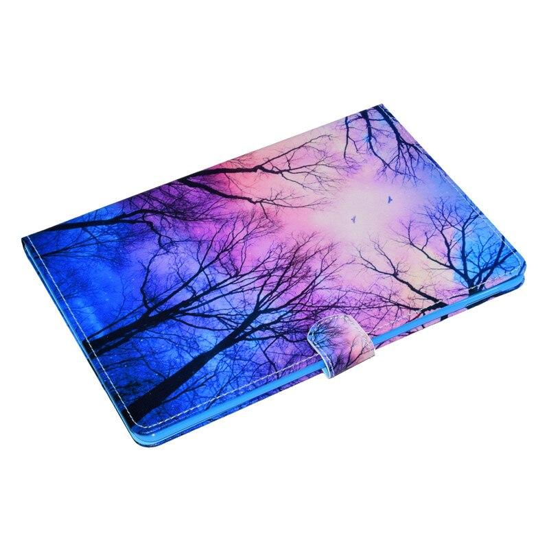 Купить с кэшбэком Wekays For Apple IPad Pro 10.5 inch 2017 Cartoon Flower Leather Flip Fundas Case sFor Coque IPad Pro 10.5 Tablet Cover Case Kids