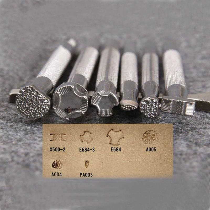1 шт., инструмент для печати кожи, легированное седло, ручная работа, кожевенное ремесло, рабочая кожа, штампы с принтом T LXY9