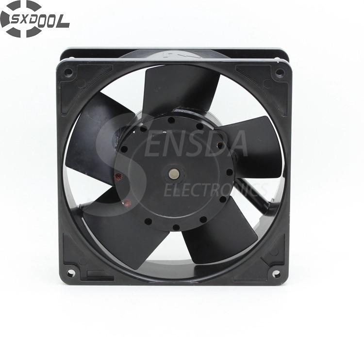 SXDOOL cooling fan 220v 3450 12738 127mm 12.7cm AC 220V 50 60Hz server inverter axial industrial