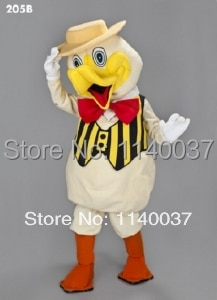 mascot Dapper Duck Mascot Costume Cartoon Character carnival costume fancy Costume party