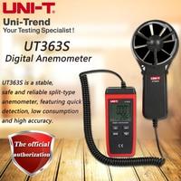 UNI-T UT363S Digital Anemometer; industrial grade handheld anemometer wind speed / temperature tester