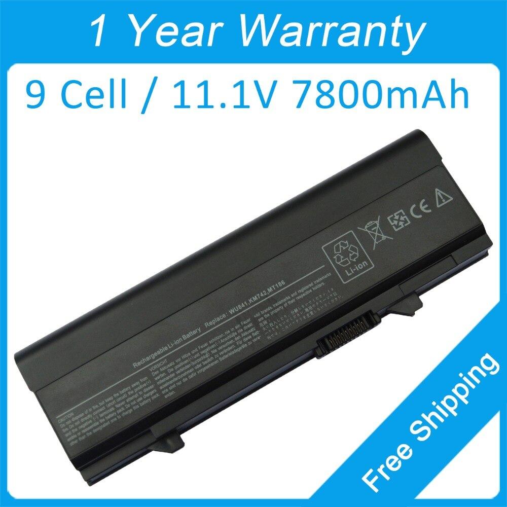 Nueva batería del ordenador portátil de 9 celdas para dell latitud E5410 E5510 MT196 WU843 0PW651 312-0762 MT332 WU852 0RM656 312-0769 P858D X064D