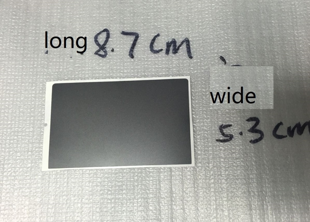 WZSM nuevo 3 Llaves Touchpad Clickpad pegatinas para LENOVO Thinkpad X250 X260 X270 S1