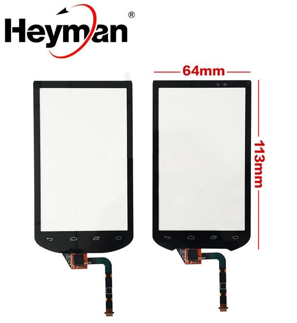 Heyman-شاشة تعمل باللمس لهاتف Motorola ، لوحة زجاجية مع مادة لاصقة للموديلات MC40 ، MC40N0