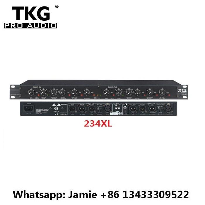 TKG karaoke dj sonido audio sistema de sonido para puesta en escena profesional crossover 234 234XL altavoz de cruce crossover