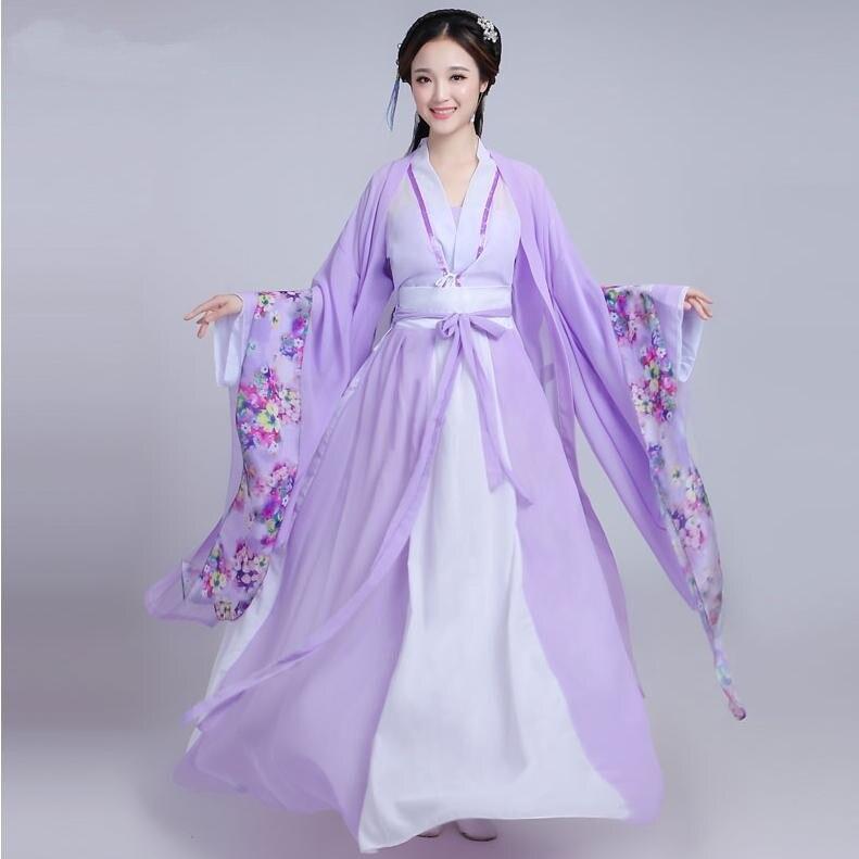 2020 الصيف النساء الصينية الأميرة زي التقليدية أزياء رقص الاطفال Enfants فتاة الشعبية القديمة Hanfu تانغ سلالة