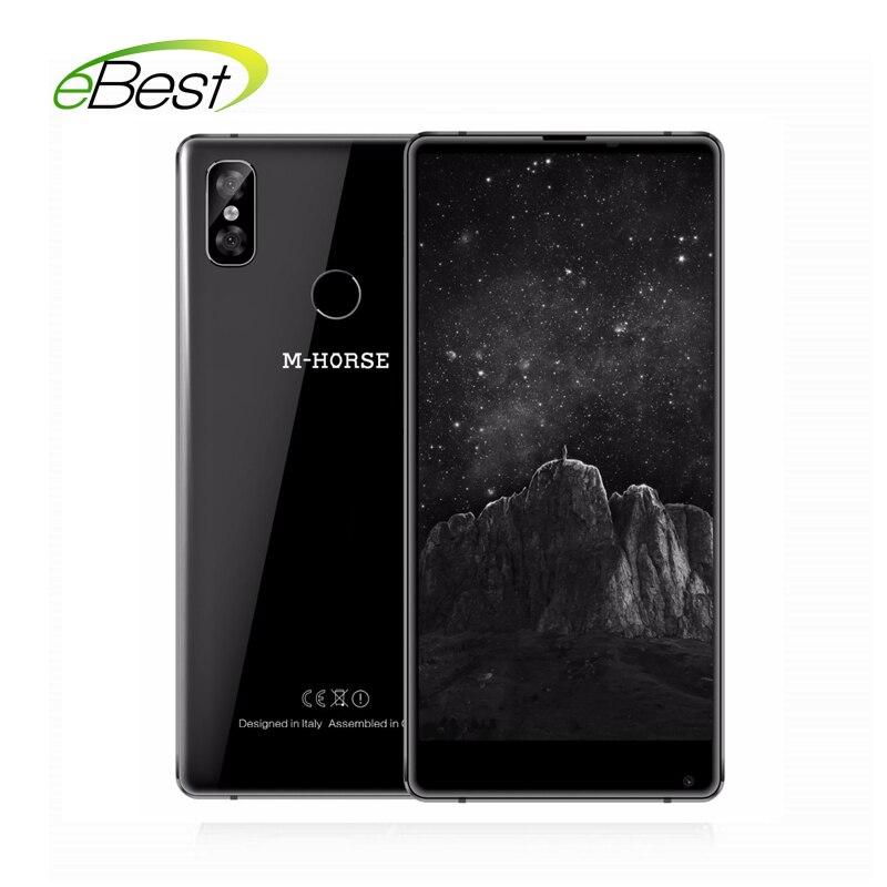 "M-Horse Reine 2 5,99 ""HD + 189 Smartphone MTK6750 Octa Core 4GB RAM 64GB ROM 3600mAh 13MP Fingerprint Android 7.0 4G Handy"