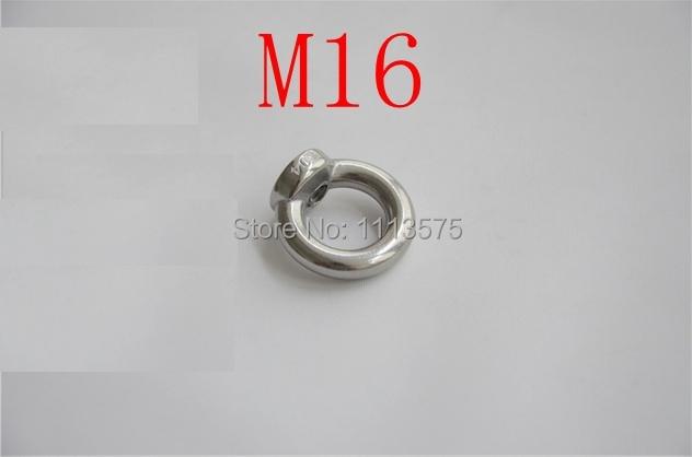 M16, 304 321 acero inoxidable 316 anillo de ojo tuerca pernos y tuercas sujetador hardware accesorio de elevación