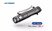 Mini lampe de poche Rechargeable USB JETBeam E01R CREE XP-G2 138 lumen AAA batterie petite taille torche pour chaque transport + câble de charge