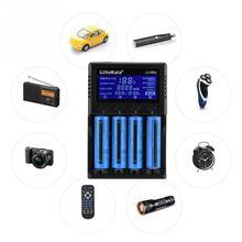Yiwa Liitokala Lii-PD4 4 Slots ÉCRAN LCD Chargeur De Batterie NiMH/AA/AAA Batterie Accessoires