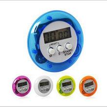 Ronde Vorm Digitale Magnetische Lcd Stopwatch Timer Keuken Racing Wekker Cn