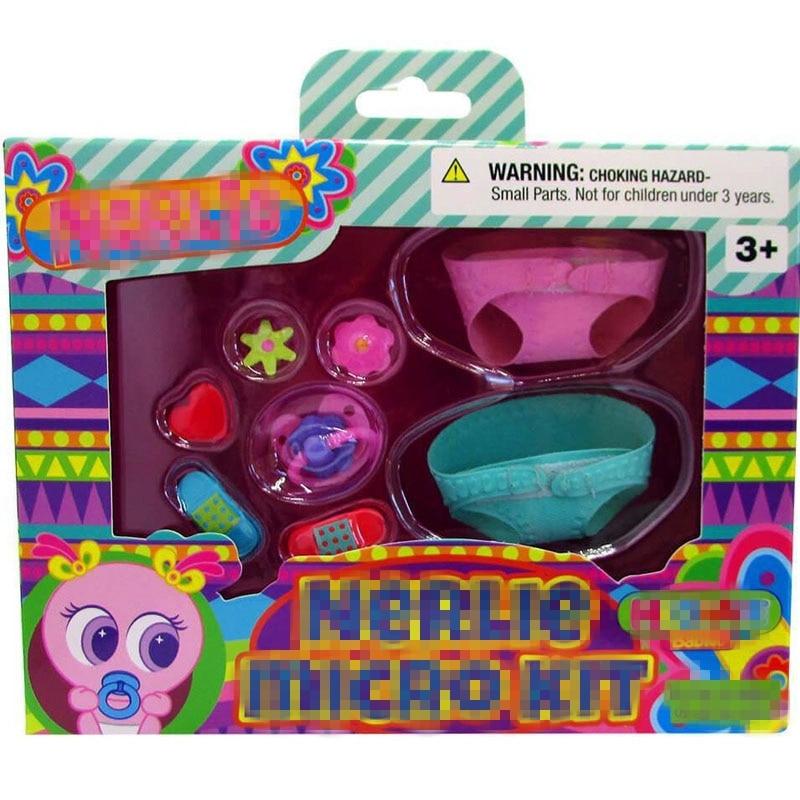 2019 nuevo recién nacido Nerlie Kit Micro Nerlie recién nacido bebés accesorios Ksimeritos ropa para Ksimeritos Juguetes Casimeritos Juguetes