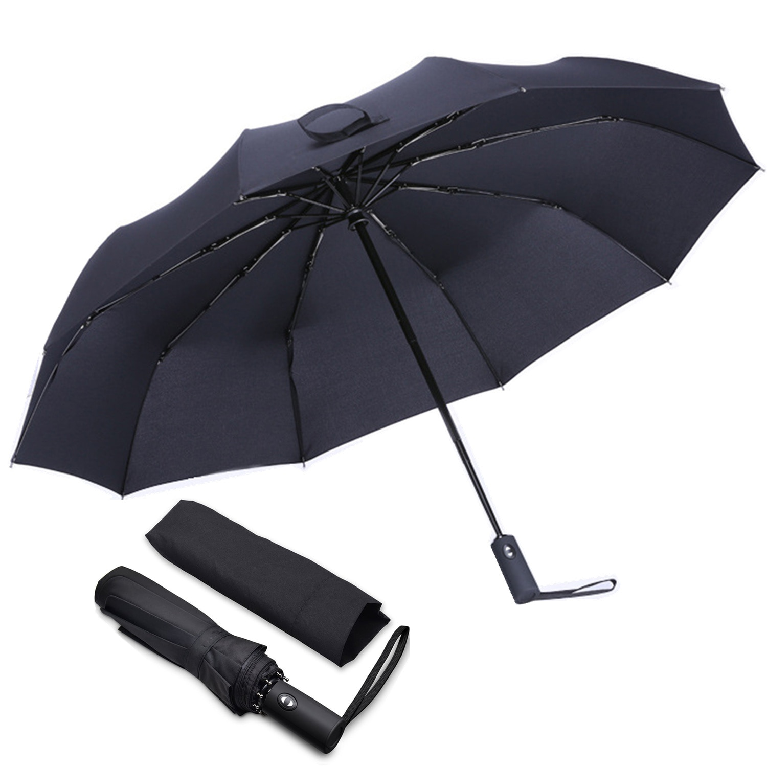 YOOAP folding umbrella windproof automatic stable Compact and durable lightweight ergonomic handle adult