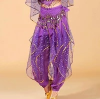 adult belly dance trousers tribal pants indian dance pant egypt bollywood clothes dancing costumes professional belly pants