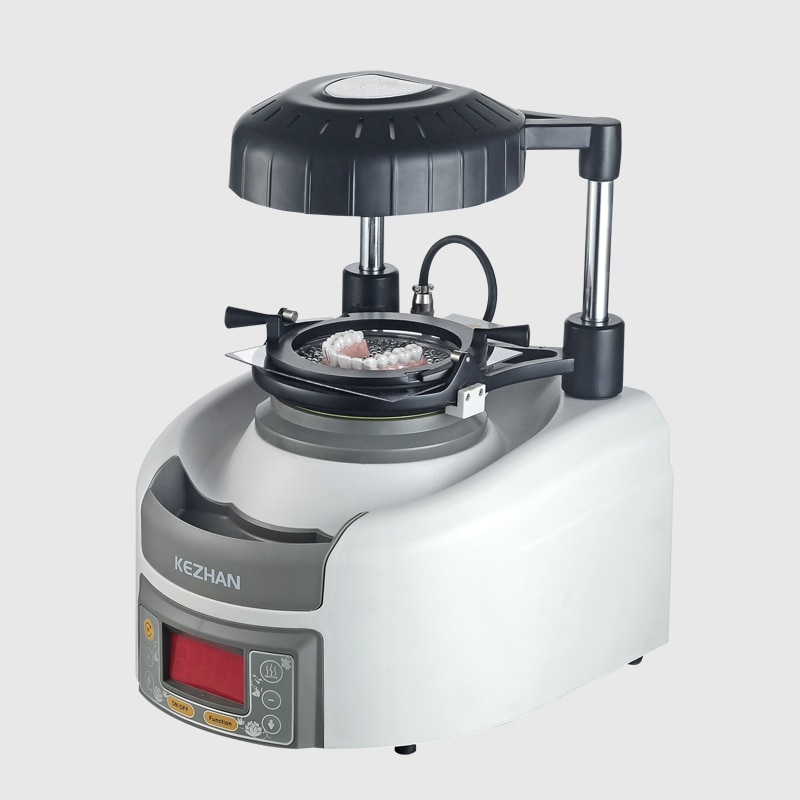 Dental Lab Equipment Vacuum Former Machine Automatic Dental Vacuum Forming Machine with Steel Balls and plastic forming sheet