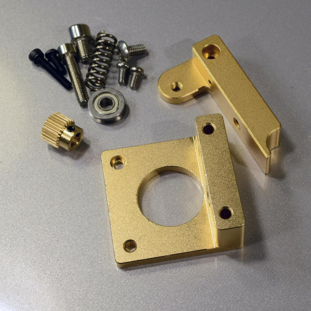 SWMAKER All Metal MK8 Direct Drive Extruder DIY Upgrade Kit for RepRap 3D printer Prusa i3