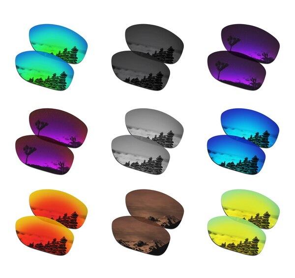 Dropshipping smartvlt lentes de substituição polarizadas para óculos de sol oakley pit bull-vários pares embalados