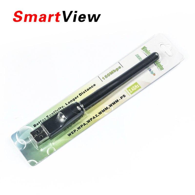 RT5370 150 mt USB 2.0 WiFi Drahtlose Netzwerk Karte 802,11 b/g/n LAN Adapter mit drehbare Antenne und einzelhandel paket