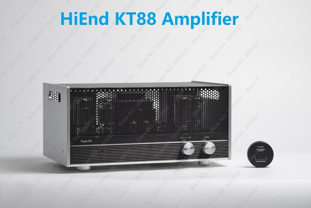 AMPLIFICADOR DE TUBO RAPHAELITE EP65 KT88 6550, amplificador de tubo integrado de alta gama con transformador de salida de acoplamiento completo