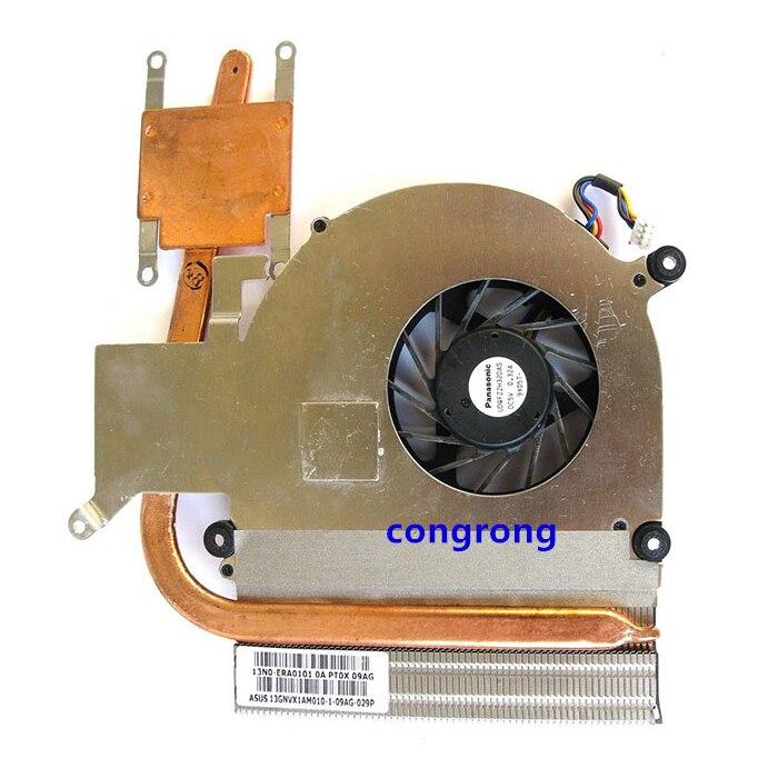 Para asus laptop disipador ventilador de refrigeración de K40 K50 K40IJ K50IJ X8AAf K50AF K40IN K50IN K50IP K50ID K50IE X5DI disipador CPU