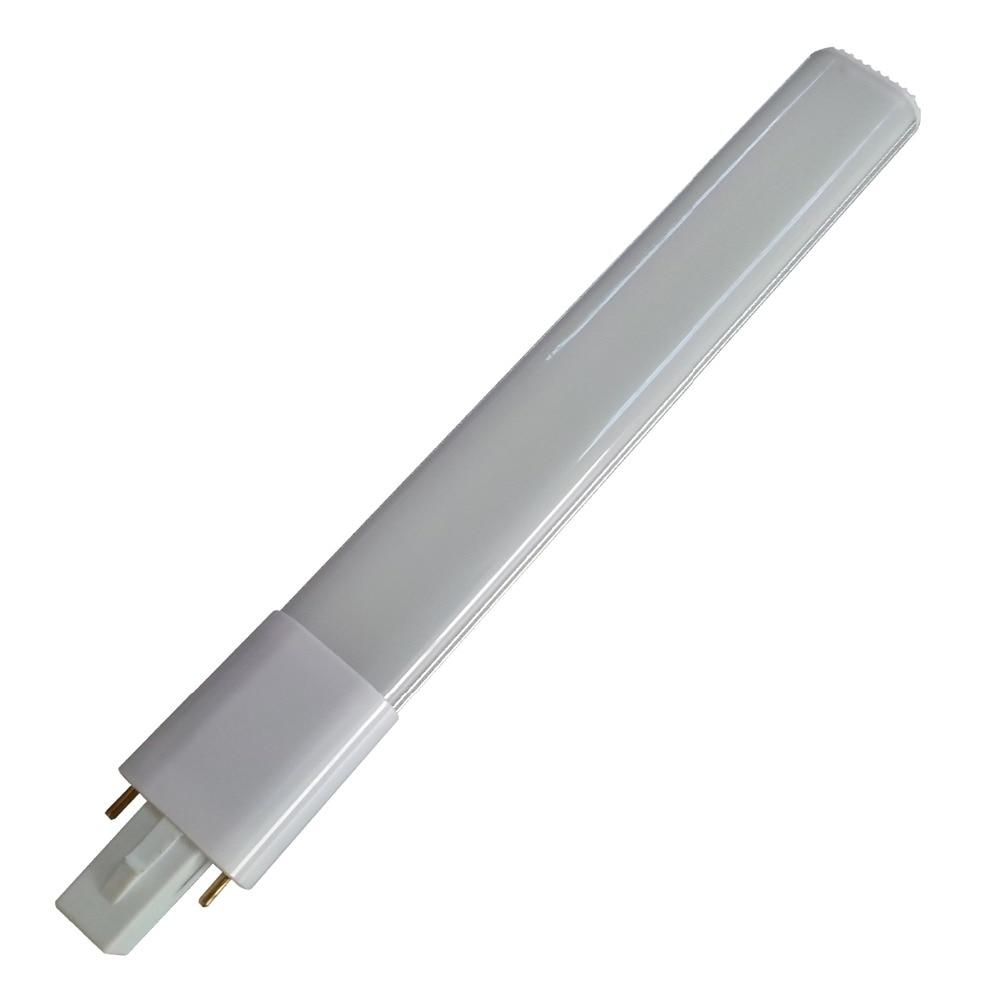 G23 led PL tube light 4W 6w 8W G23 led bulb light brightness replace CFL light AC85-265V