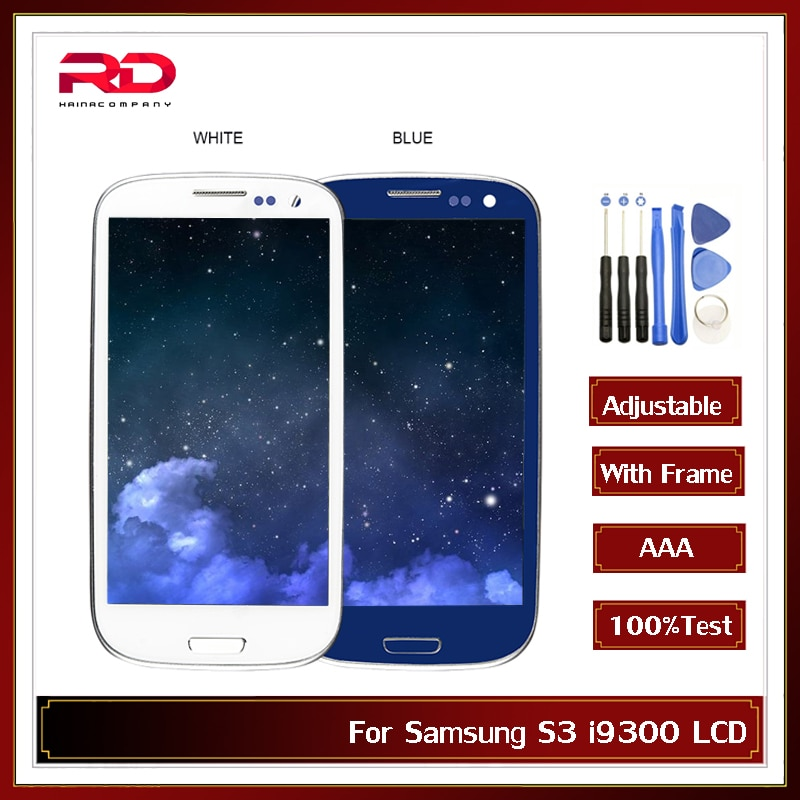 I9300i écran daffichage pour Samsung Galaxy S3 i9300 LCD écran tactile numériseur pour Samsung S3 LCD avec cadre
