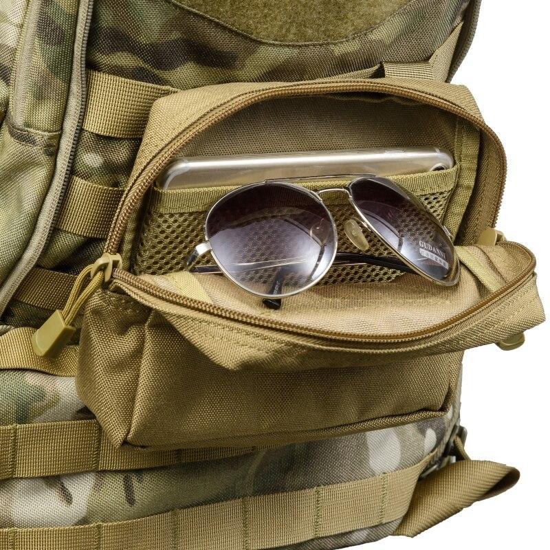 1000D bolso de cintura táctico militar multifuncional herramienta EDC molle cremallera Paquete de cintura accesorio Durable cinturón bolsa al aire libre
