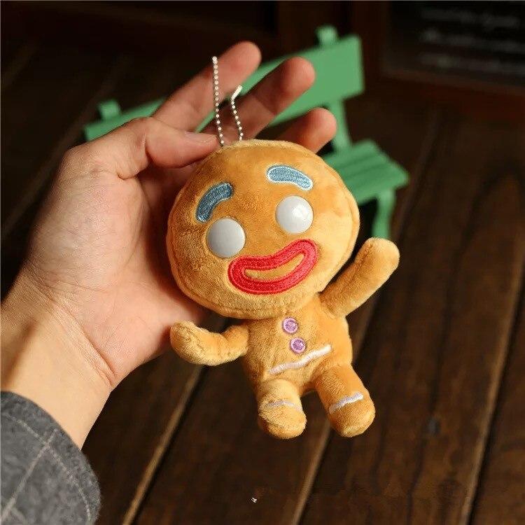 1 pcs Marca New Original 12 cm Shrek Gingerbread man Action Figure Modelo Toy Collectible Boneca de Pelúcia de Algodão PP Em estoque