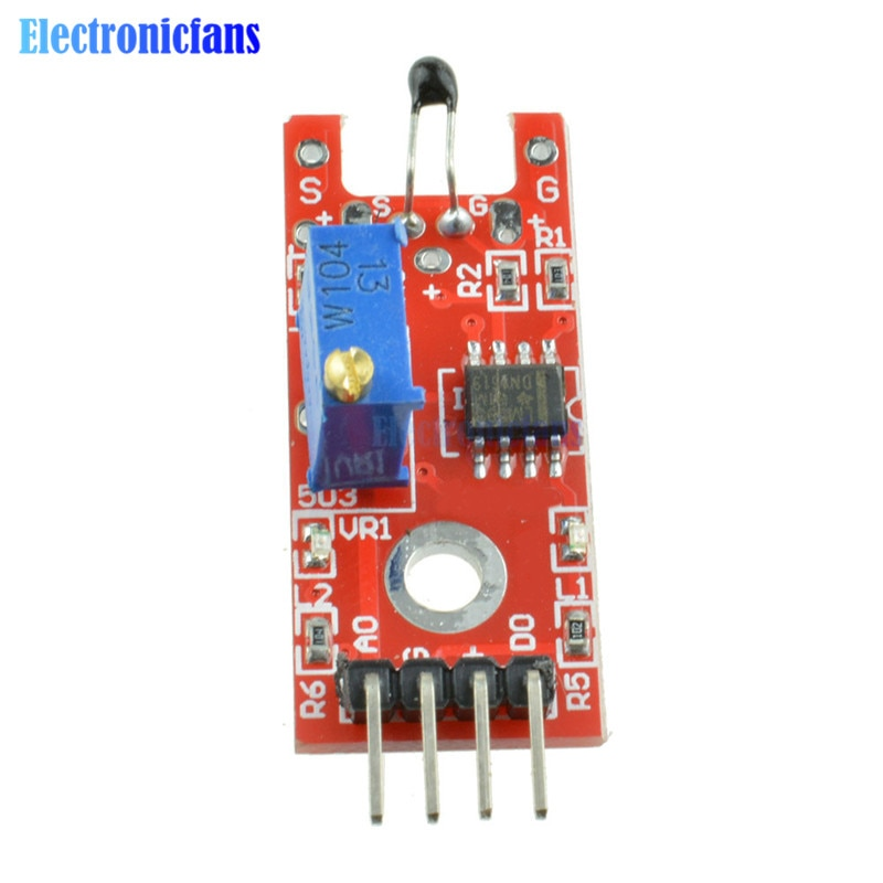 2pcs KY-028 Digital Temperature Sensor Module For Arduino Smart Electronics Switch DIY Starter Kit