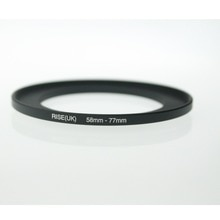 Originele Rise (Uk) 58 Mm-77 Mm 58-77 Mm 58 Te 77 Step Up Ring Filter Adapter Black