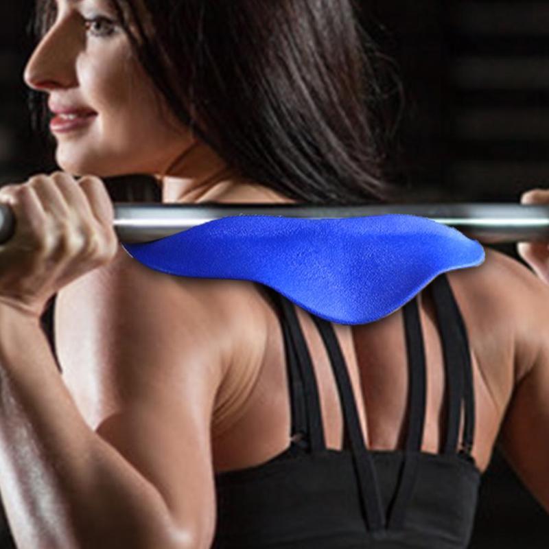 Levantamiento de pesas sentadilla espesar los hombros almohadilla protectora protección del cuello cuerpo edificio espalda estabilizador Fitness Protector Shin Guar