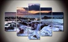 Sans cadre imprimé plage mer 5 pièce photo peinture mur art salon fond moderne décor à la maison affiche toile