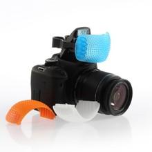 Adjustable Soft Inner Flash Diffuser Cover Top Mask Pop-Up Camera Soft Cover For Canon Nikon Pentax Kodak DSLR SLR Camera