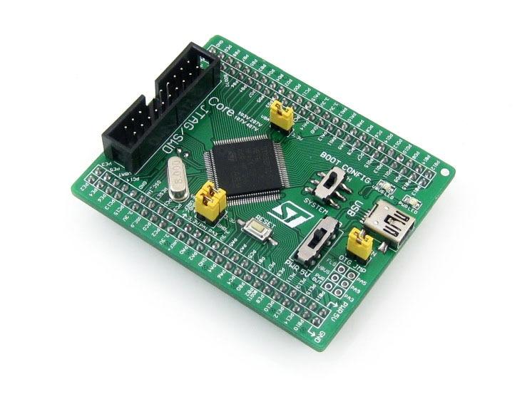 Core103V STM32F1 Core Board STM32F103VET6 STM32F103 Placa de desarrollo ARM Cortex-M3 con interfaz de depuración JTAG/SWD Full IOs
