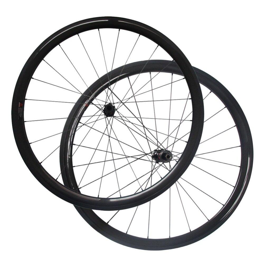 Rueda de disco de carbono Centerlock con bloqueo central D411SB/D412SB eje tubular de tracción recta o juego de ruedas de freno de disco Clincher