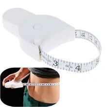 Ruban à mesurer rétractable règle corps graisse perte de poids mesure taille ruban pour Fitness précis étrier outil de jaugeage 150cm