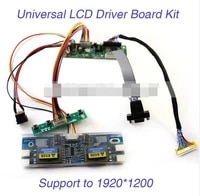lcd monitor driver board kit w keypad vga cable 4 c inverter built in 23 programs support 10 22 lvds screen new