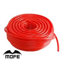 MOFE auto styling silikon vakuum rohr 100% Silikon rohr Rot 30M 3MM Silikon Vakuum Schlauch Rohr Schläuche