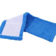 1 шт. практичная 430*140*20 ММ сменная Швабра Бытовая пылеочищающая многоразовая салфетка из микрофибры для распылительной швабры