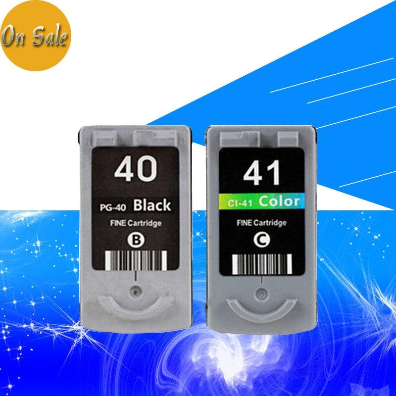 Hisaint PG-40 CL-41 Cartuccia di Inchiostro per CANON PG40 CL41 per PIXMA iP1700 iP1880 iP2200 MP145 MP150 MP160 MP170 MP198 Stampante